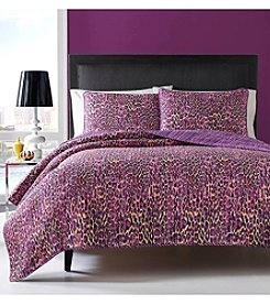 Betsey Johnson® Multi Leopard 3-pc. Quilt Set