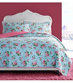Betsey Johnson® Leopard Floral 3-pc. Quilt Set