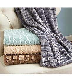 Home Fashions Hastings Sculpted Throw