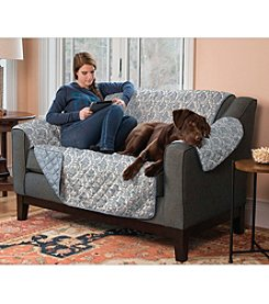 Home Fashions Luxe Home Reversible Loveseat or Sofa Slipcover
