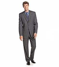 Lauren Ralph Lauren Men's Big & Tall Sharkskin Suit Separates