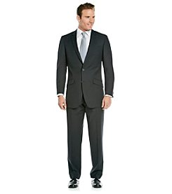 Kenneth Cole REACTION® Men's Big & Tall Black Stripe Suit Separates