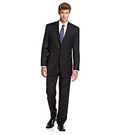 Calvin Klein Men's Big & Tall Black Suit Separates