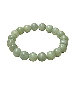 Jadeite 10mm Bead Stretch Bracelet