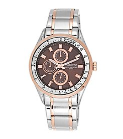 Armitron® Men's Multi-Function Two-Tone Bracelet Watch