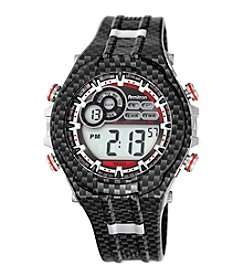 Armitron® Men's Grey Patterned Digital Chronograph Resin Strap Watch