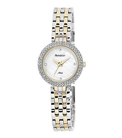 Armitron® Women's Swarovski Crystal Accented Two-Tone Bracelet Watch