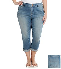 Lucky Brand® Plus Size Emma Cropped Jeans