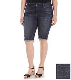 Lucky Brand® Plus Size Ginger Bermuda Shorts