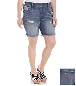 Lucky Brand® Plus Size Georgia Americana Shorts