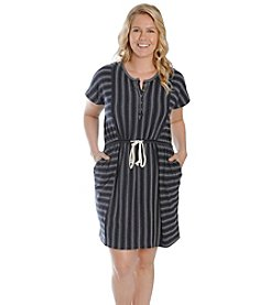 Lucky Brand® Plus Size Novelty Stripe Dress