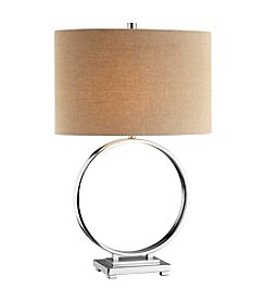 Stein World O Chrome Table Lamp