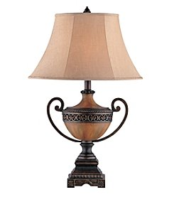 Stein World Chadwick Burnished Wood Urn Table Lamp
