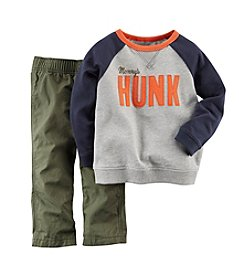 Carter's® Boys' 2T-4T Mommy's Hunk Outfit Set