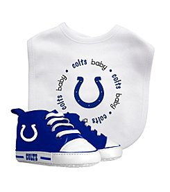 Indianapolis Colts Baby Bib And Shoe Set