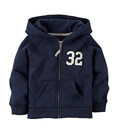 Carter's® Boys' 2T-7 Solid Fleece Hoodie