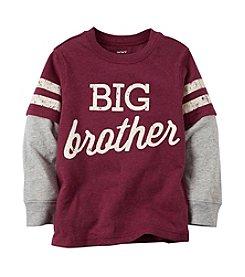 Carter's® Boys' 2T-4T Long Sleeve Big Brother Layered Top