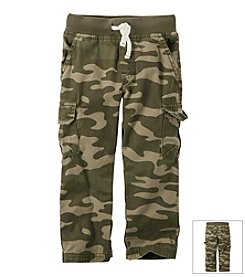 Carter's® Boys' 2T-7 Camo Woven Pants
