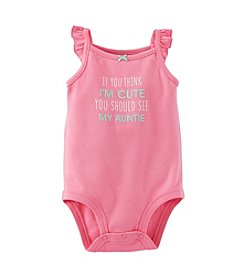 Carter's® Baby Girls' 3-24 Month Cute Auntie Bodysuit