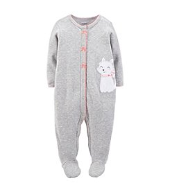 Carter's® Baby Girls' 3-24 Month Cotton Snap-Up Sleep & Play
