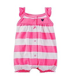 Carter's® Baby Girls' 3-24 Month Striped Creeper