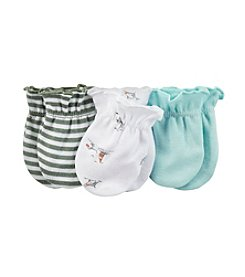 Carter's® Baby Boys 3-Pack Mittens