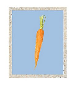 Carrot Framed Art