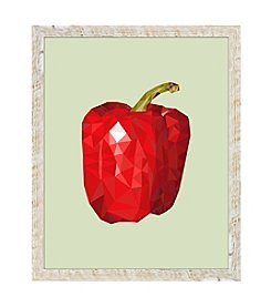Bell Pepper Framed Art