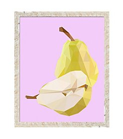 Pear Framed Art