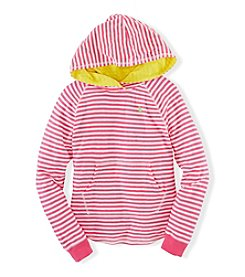 Ralph Lauren Childrenswear Girls' 7-16 Striped Hoody