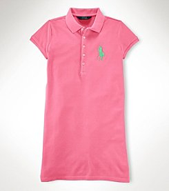 Ralph Lauren Childrenswear Girls' 7-16 Polo Dress