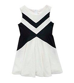 Rare Editions® Girls' 7-16 Ponte Dress