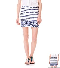 Sam Edelman™ Embroidered Mini Skirt