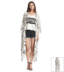 KIIND OF Amazon Print Oversized Cardigan