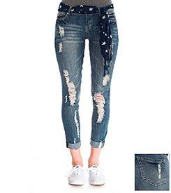 Wallflower® Destructed Boyfriend Jeans