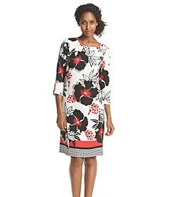 Nine West® Floral Print Dress