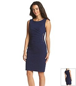 Ivanka Trump® Jacquard Scuba Dress
