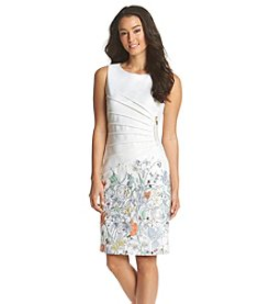 Ivanka Trump® Printed Scuba Dress