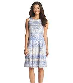 Ivanka Trump® Printed Crepe Dress