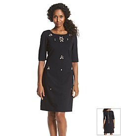 Eliza J® Jeweled Shift Dress
