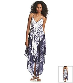 Adrianna Papell® Tie Dye Hankerchief Dress