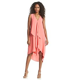 Adrianna Papell® Asymmetrical Ruffle Dress