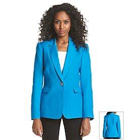 Tahari ASL® Linen Jacket
