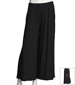 Chaus Pleat Front Crop Pant