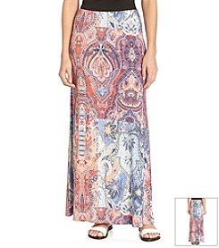 Karen Kane® Paisley Printed Maxi Skirt