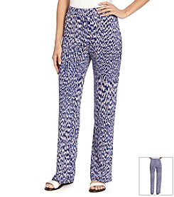 Karen Kane® Reflection Print Pull On Pants