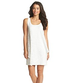 S.L. Fashions Lace Overlay Dress