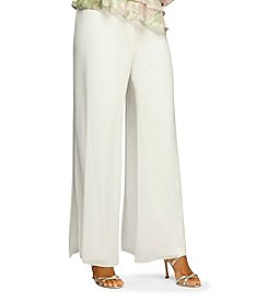 Alex Evenings® Chiffon Overlay Pants