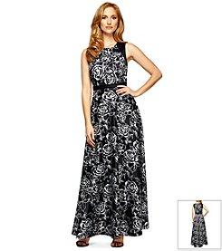 Alex Evenings® Floral Ballgown