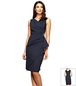 Alex Evenings® Ruched Jersey Dress